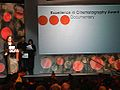Kahane Cooperman Presents the Cinematography Award- Documentary (12186039945).jpg