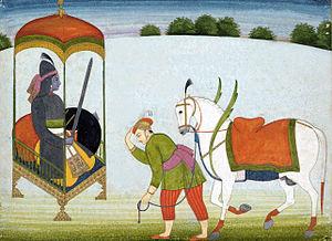 Kalki - Kalki Avatar Punjab Hills, Guler, c. 1765.