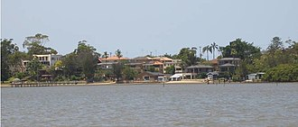 Kangaroo Point, New South Wales - Kangaroo Point, view from Oyster Bay