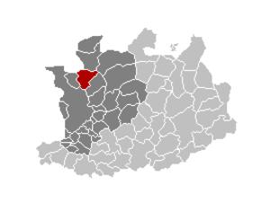 Kapellen, Belgium - Image: Kapellen Locatie