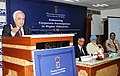 Kapil Sibal addressing at the Enhancing Corporate Participation in Higher Education, in New Delhi on May 08, 2012. The Deputy Chairman, Planning Commission, Shri Montek Singh Ahluwalia is also seen.jpg