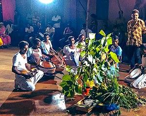 Karam (festival) - Karam puja in Jhargram