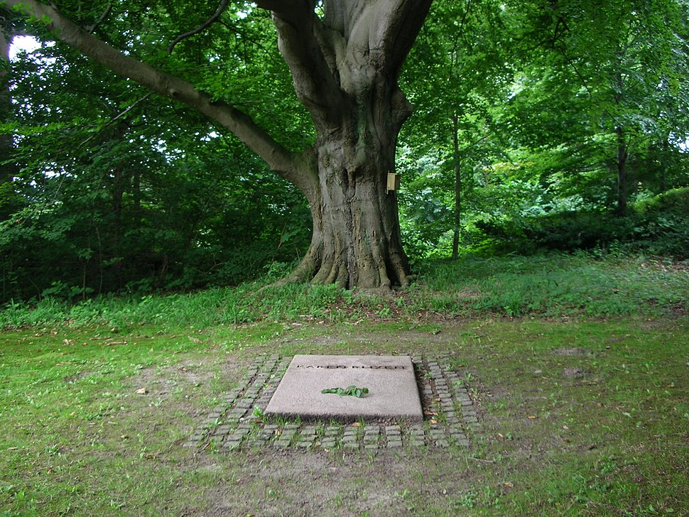 Karen Blixen's grave