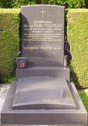 Döbling Cemetery - Karl Fellinger