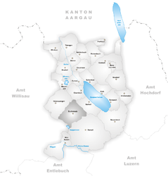 Buttisholz – Mappa