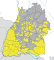 Karte Gemeinden Baden-Württemberg 9. Mai 2011 Artikel alswiki.png