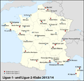 Karte Ligue-1-2-Klubs 2013-2014.png