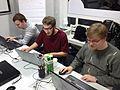 Kartenkurs im Wikipedia Kontor Hamburg 2015.JPG