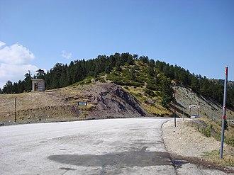 Greek National Road 6 - Katara Pass, the mountain pass between Ioannina and Trikala, at 1700 m. height