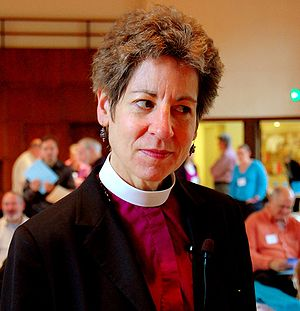 The Most Reverend Dr. Katharine Jefferts Schor...