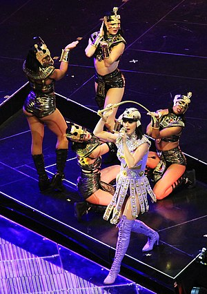"Dark Horse (Katy Perry song) - Perry performing ""Dark Horse"" at The Prismatic World Tour"