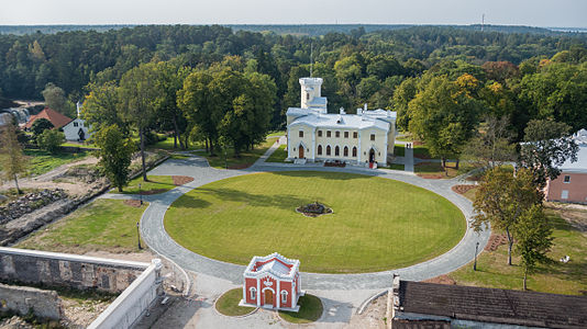 Keila-Joa manor from east (aerial photo)