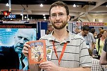 Kevin Cannon at San Diego Comic Con 2009.jpg