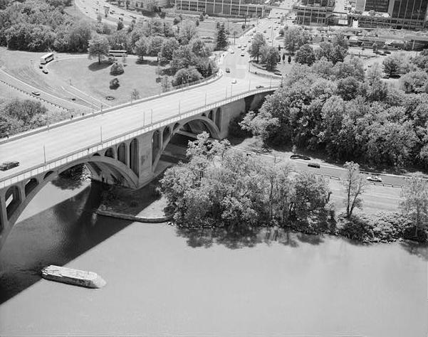 Key Bridge and aqueduct pier