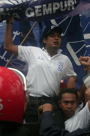 Khairy Jamaluddin, Deputy Youth Chief of Baris...
