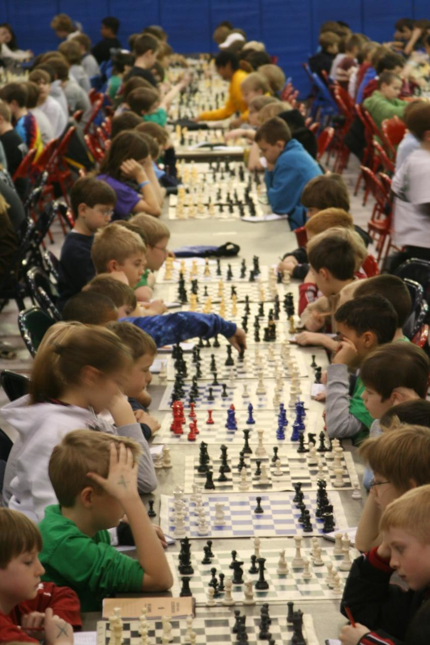 Kids chess tournament