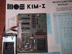 KIM-1 - KIM-1 computer in operation