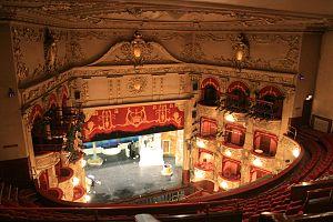 King's Theatre, Edinburgh - Interior Detail, Auditorium Left Boxes
