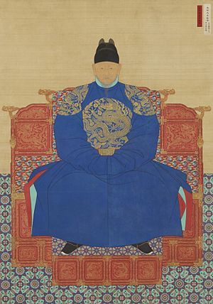 History of the Joseon Dynasty - King Taejo's portrait.