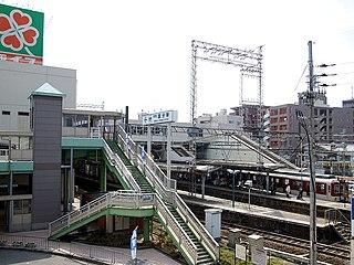 Kawachi-Kokubu Station Railway station in Kashiwara, Osaka Prefecture, Japan