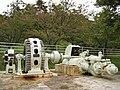 Kitashinano Country Forest and Cultural Park Kusugawa Power Station water turbine and generator 3.jpg