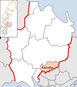 Knivsta Municipality - Image: Knivsta Municipality in Uppsala County
