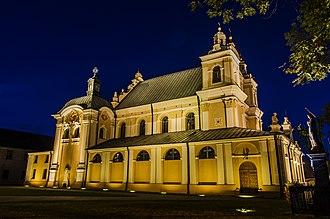 Opole Lubelskie - Church in Opole Lubelskie