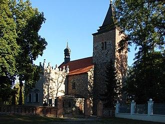 Kościelec, Kuyavian-Pomeranian Voivodeship - Church of Saint Margaret. Was built in the 12th century.