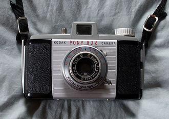 828 film - Kodak Pony 828, Kodak's last 828 camera in the US.