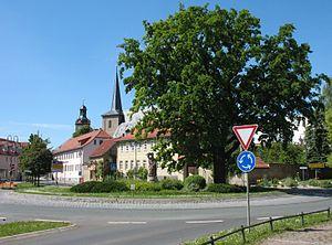 Kölleda - Image: Koelleda rossplatz 2014