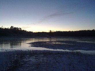 Kokemäenjoki - Kokemäenjoki river in the Pirkanmaa region