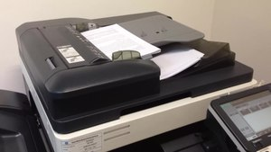 File:Konica Minolta photocopier with an automatic document feeder, School of Law, Singapore Management University - 20140611.webm