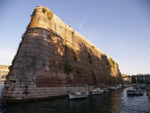 Siege of Corfu (1798–99) - The moat of Palaio Frourio