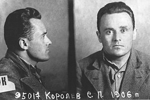 Soviet Union - Sergei Korolev, the father of the Soviet space program, shortly after his arrest during Stalin's Great Terror