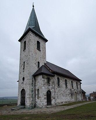 Giebło - Saint James, the Apostle Church