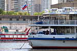 Kosmonavt Gagarin on Khimky Reservoir 3-aug-2012 12.jpg