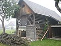 Kozolec (Traditional Slovenian Drying Shed) - panoramio.jpg