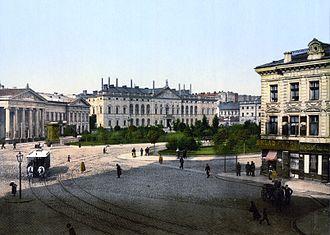 Krasiński Palace - Image: Krasinski Square Warsaw