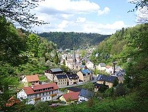 Bad Schandau - View of Krippen