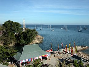 Kupang lighthouse and anchorage.JPG