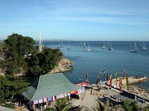 Kupang - Kupang lighthouse and Sail Indonesia anchorage