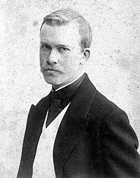 Фотопортрет Бориса Кустодиева, 1900 год