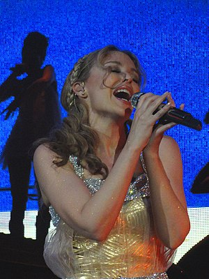 I Believe in You (Kylie Minogue song) - Minogue performing the song on her Aphrodite: Les Folies Tour (2011).