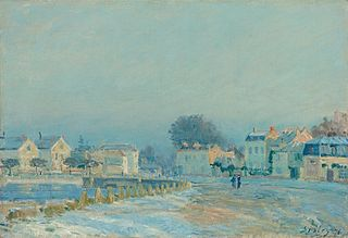 1876 painting by Alfred Sisley