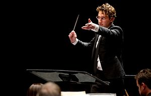 Teddy Abrams - Teddy Abrams conducting the Louisville Orchestra on September 6, 2014