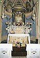 La Cappelletta, 1983, dopo i restauri, l'altare maggiore.jpg
