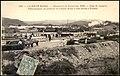 La Haute Marne- Manoeuvres de Forteresse 1906 - Siège de Langres. Débarquement du matériel du Chemin de fer a voie etroite a Foulain (Despatched 4-7-1906, Postal Stamp 5-8-1906).jpg