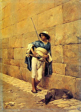 Charles Bargue - Image: La Sentinelle albanaise 1860