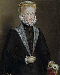 Portrait of Anna of Austria (1549-1580)