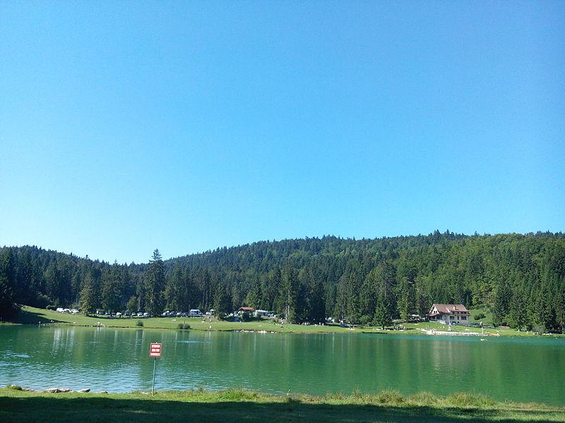 Vue du lac Genin.